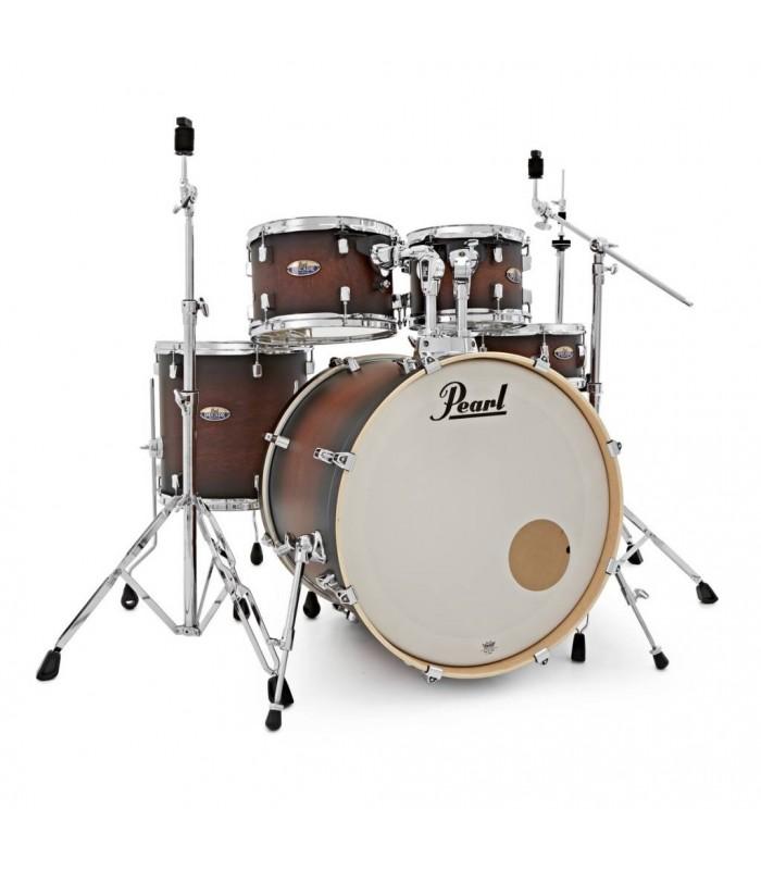 Pearl Decade Maple Satin Brown Burst drumstel