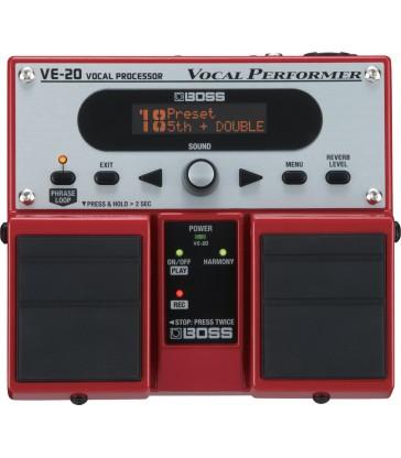 Boss processador de veu VE-20